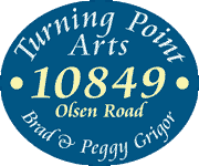 Turning Point Arts sign